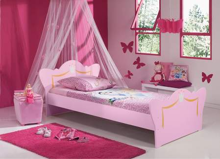 STEPENIK - Dekoracija sobe za male princeze