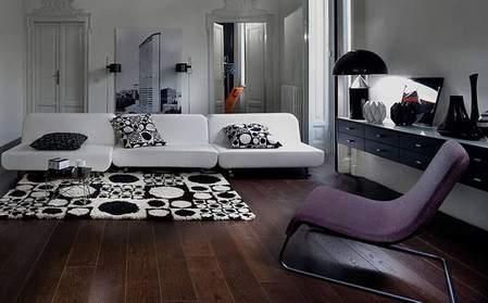 STEPENIK - Bela sofa kao osnova za izražavanje kreativnosti