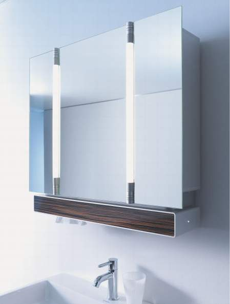 Stepenik funkcionalna i dekorativna uloga ogledala u kupatilu for Bathroom mirror with pull out storage