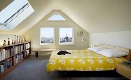 STEPENIK - Spavaće sobe u potkrovlju