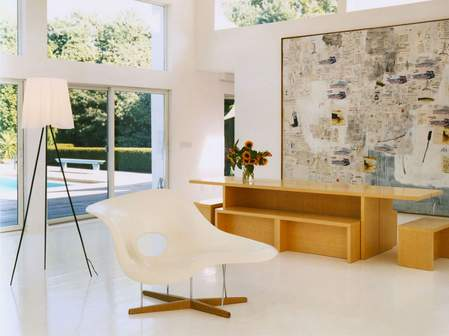 Stepenik klupe umesto trpezarijskih stolica for Kelly behun studio