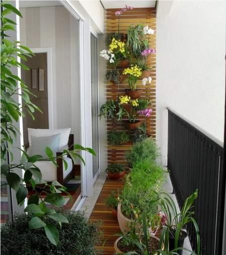 vertikalna bašta na terasi