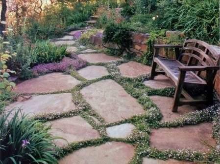 Loose Stone Patio Ideas